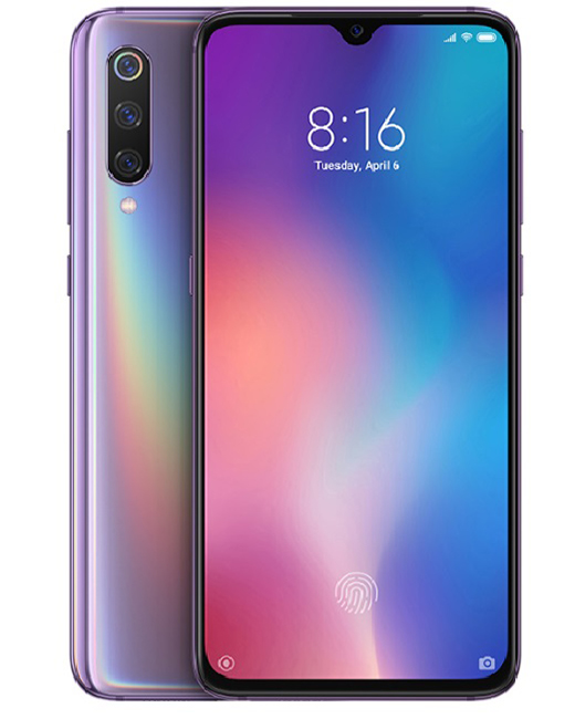 Smartfonları mi 9 6/128gb purple 1